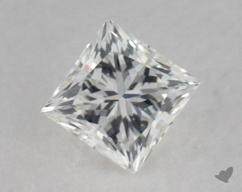 0.74 Carat H-VS2 Good Cut Princess Diamond