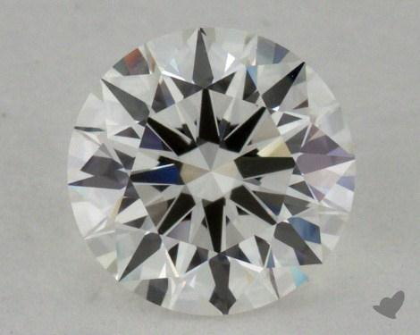0.76 Carat I-VVS1 Excellent Cut Round Diamond