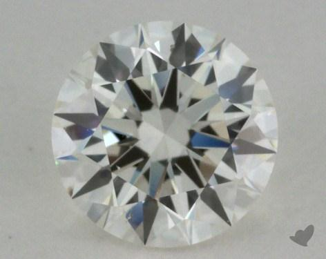 0.80 Carat I-SI1 Excellent Cut Round Diamond