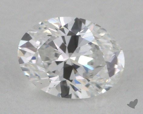0.52 Carat D-VS2 Oval Cut  Diamond