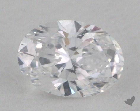 0.51 Carat D-SI1 Oval Cut Diamond