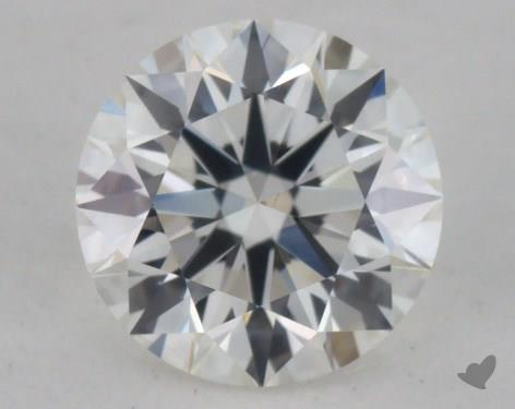 0.45 Carat H-VS1 Excellent Cut Round Diamond