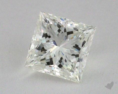 2.05 Carat H-VS1 Ideal Cut Princess Diamond