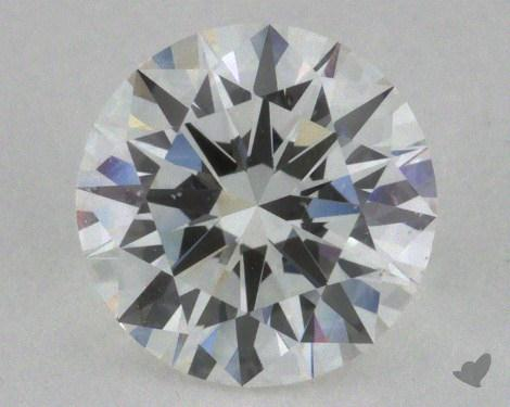 0.90 Carat F-SI1 Excellent Cut Round Diamond