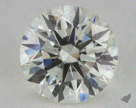 1.00 Carat J-SI1 Excellent Cut Round Diamond