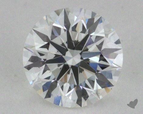 0.90 Carat F-SI1 Excellent Cut Round Diamond