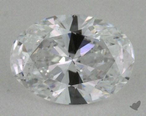 0.70 Carat D-SI2 Oval Cut Diamond