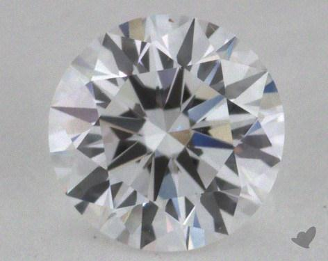 0.63 Carat D-IF Excellent Cut Round Diamond