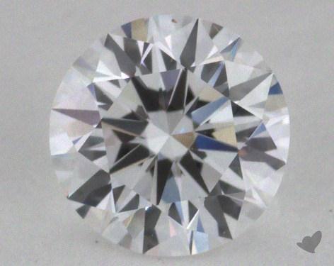 0.63 Carat D-IF Excellent Cut Round Diamond