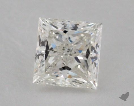 1.22 Carat H-VS2 Ideal Cut Princess Diamond