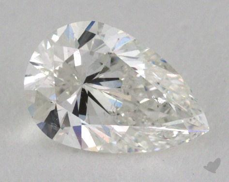 0.75 Carat H-SI2 Pear Shape Diamond