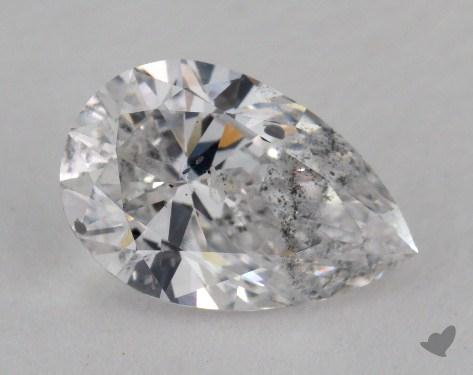 1.54 Carat E-I1 Pear Shape Diamond