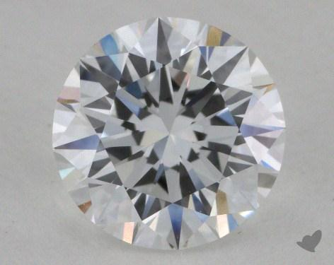 0.92 Carat D-IF Excellent Cut Round Diamond 