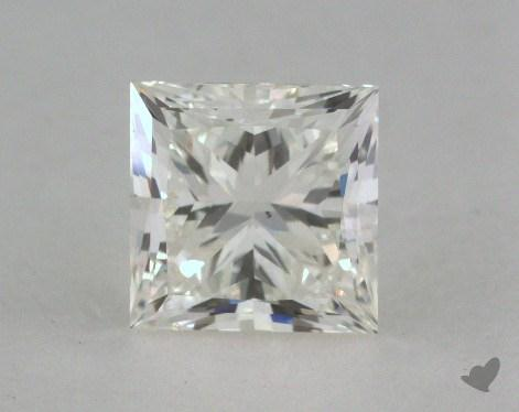 0.90 Carat J-VS2 Very Good Cut Princess Diamond