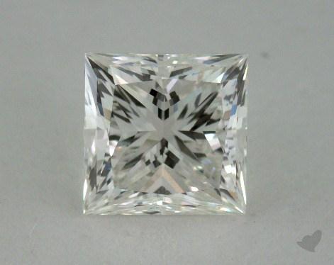 0.89 Carat I-VS2 Ideal Cut Princess Diamond