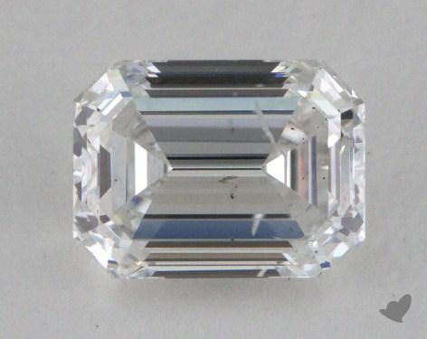 1.01 Carat F-SI2 Emerald Cut Diamond
