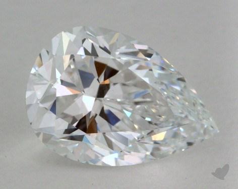 2.01 Carat D-IF Pear Shape Diamond
