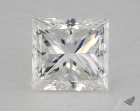 2.01 Carat F-VS1 Ideal Cut Princess Diamond