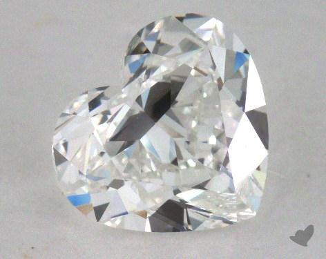 1.50 Carat G-VVS2 Heart Cut Diamond