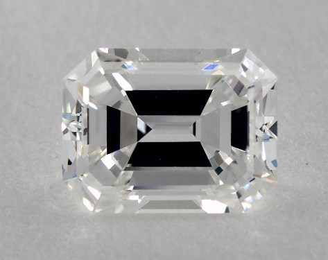 1.00 Carat F-VS1 Emerald Cut  Diamond