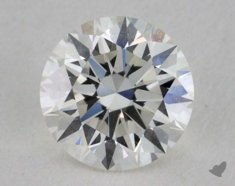 0.72 Carat H-VVS1 Excellent Cut Round Diamond
