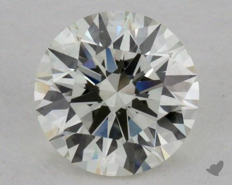 1.02 Carat J-VS1 Excellent Cut Round Diamond