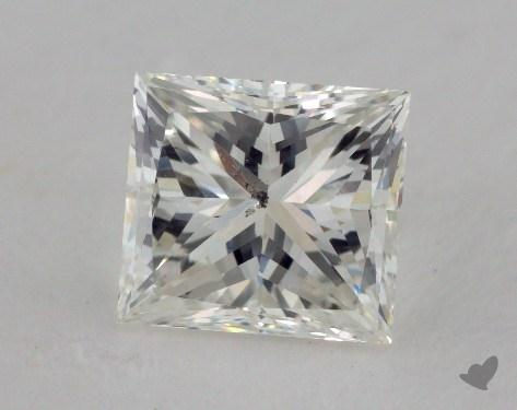 1.74 Carat H-SI2 Very Good Cut Princess Diamond
