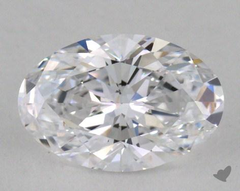 1.27 Carat D-IF Oval Cut Diamond
