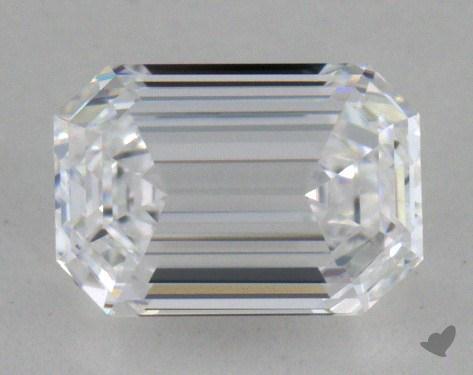 0.80 Carat D-VVS2 Emerald Cut Diamond