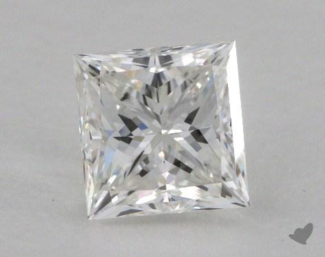 1.00 Carat F-VS2 Ideal Cut Princess Diamond