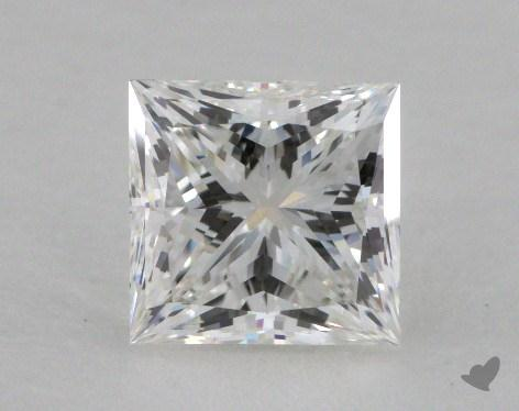 1.02 Carat F-VS1 Ideal Cut Princess Diamond