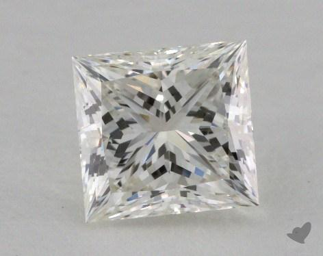 1.07 Carat I-SI1 Ideal Cut Princess Diamond