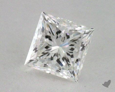 1.09 Carat G-VS2 Ideal Cut Princess Diamond