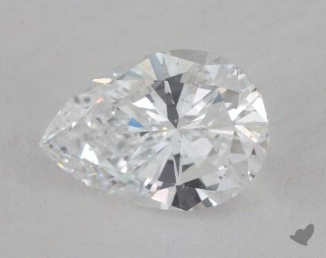 1.40 Carat D-SI1 Pear Shaped  Diamond