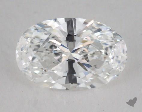 1.08 Carat E-VS1 Oval Cut Diamond