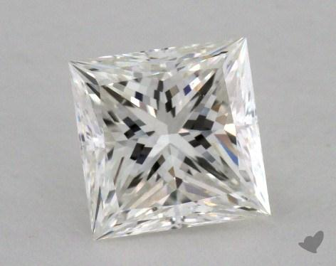 1.07 Carat G-VS2 Ideal Cut Princess Diamond