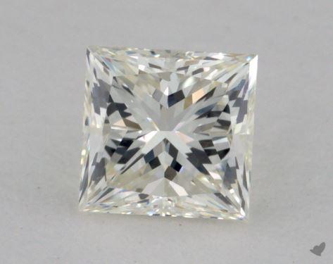 0.91 Carat I-VS2 Very Good Cut Princess Diamond
