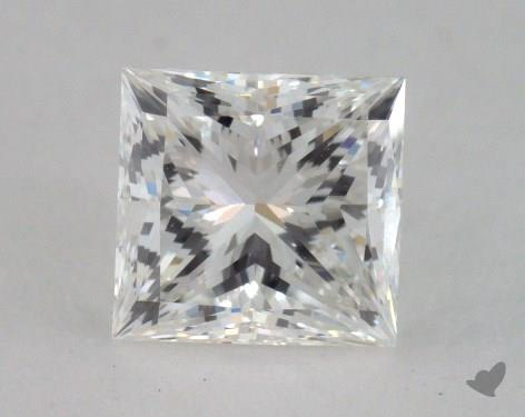 1.18 Carat G-VVS2 Very Good Cut Princess Diamond