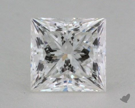 1.28 Carat G-VS1 Ideal Cut Princess Diamond