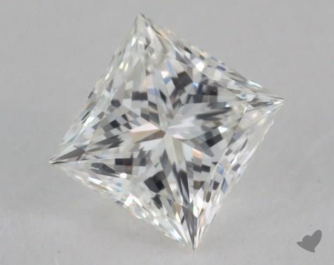 0.72 Carat D-VS1 Ideal Cut Princess Diamond