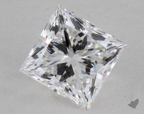 0.76 Carat D-VVS1 Very Good Cut Princess Diamond