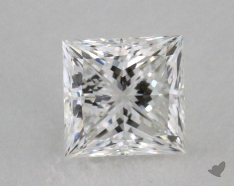 0.74 Carat F-VVS2 Princess Cut  Diamond
