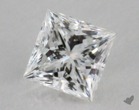 0.79 Carat F-VVS1 Princess Cut Diamond 