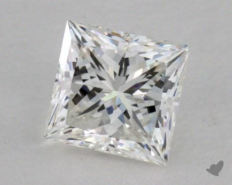 0.70 Carat G-SI1 Princess Cut  Diamond