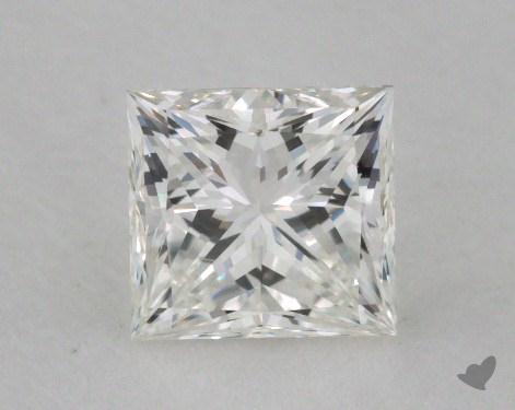 0.75 Carat G-VVS2 Ideal Cut Princess Diamond