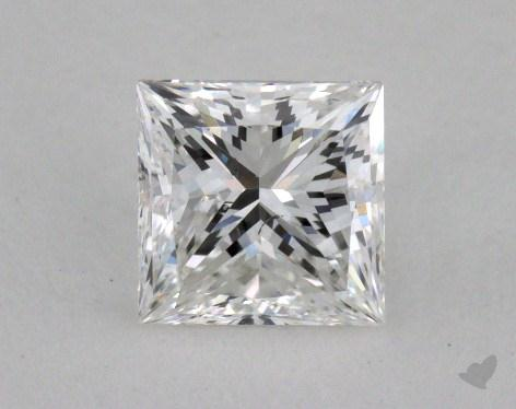 0.83 Carat F-SI2 Princess Cut  Diamond