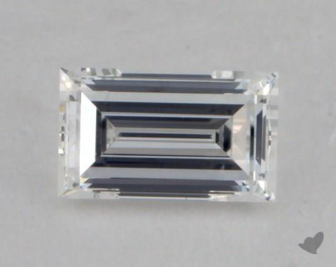 0.30 Carat D-VVS1 Emerald Cut Diamond