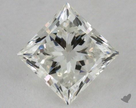 0.96 Carat I-VVS2 Ideal Cut Princess Diamond
