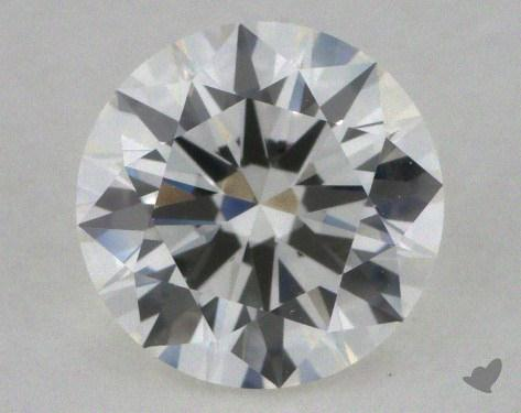 0.90 Carat H-VVS2 Excellent Cut Round Diamond