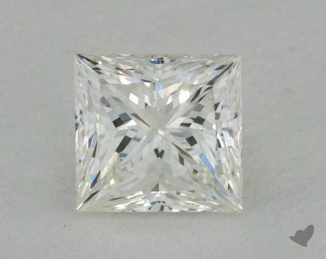 0.86 Carat I-VVS1 Ideal Cut Princess Diamond
